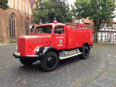 Nienburg/Weser Fire Brigade, Mercedes 1958 Fire Engine