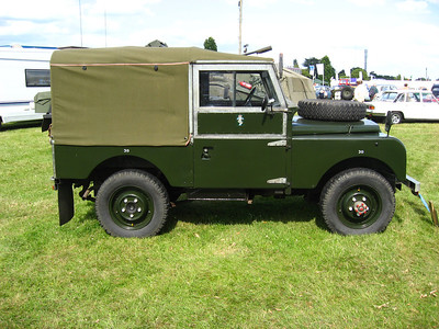 "Royal Show 2008 - Land Rover Series I 86"", 1954, PSK367, 42BP83"