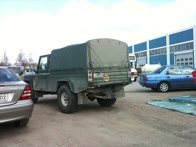 Land Rover High Capacity Pick Up