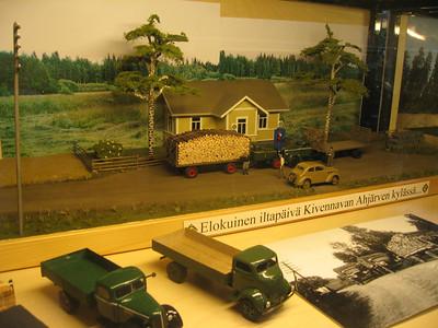 Vehoniemen automuseo, Kangasala