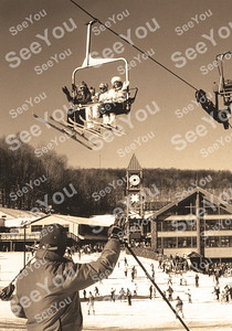 Hidden Valley Resort  Vintage Winter Images