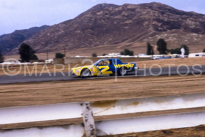 Dale Earnhardt 1981 Winston Western 500