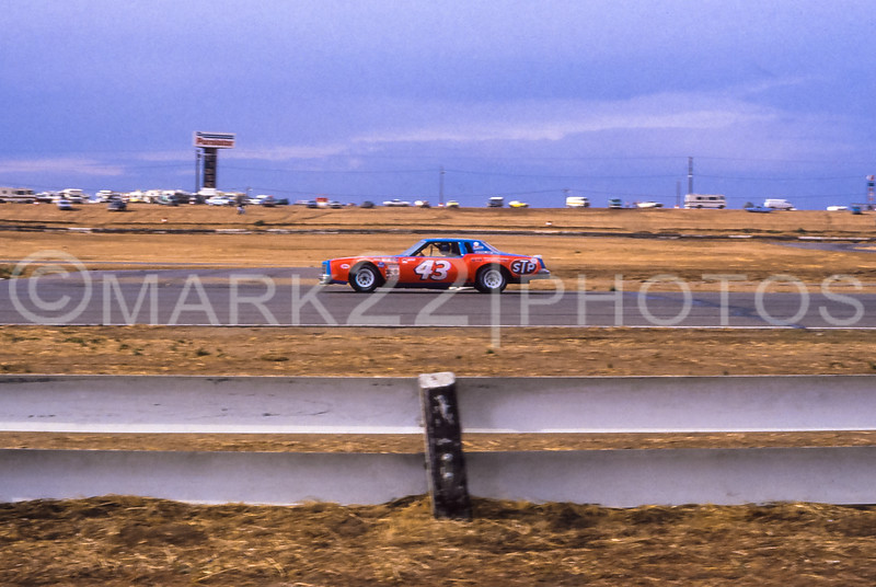 Richard Petty 1981 Winston Western 500