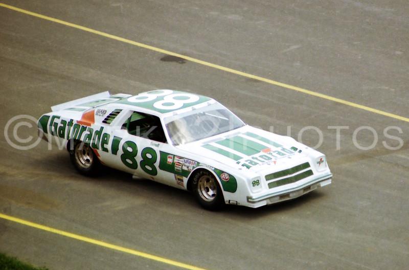 Darrell Waltrip 1977 World 600 CMS