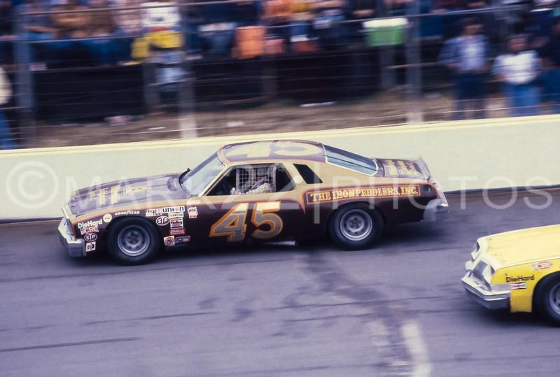 Baxter Price May 1980 Mason-Dixon 500