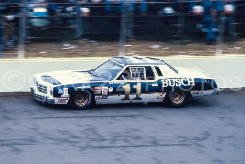 Cale Yarborough May 1980 Mason-Dixon 500