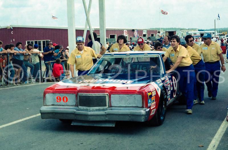 Ricky Rudd Coca-Cola 500 Pocono July 1979