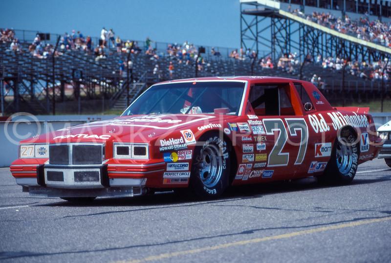 Tim Richmond July 1985 Pocono