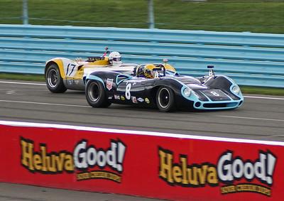 Vintage Race Action, Watkins Glen, September, 2010