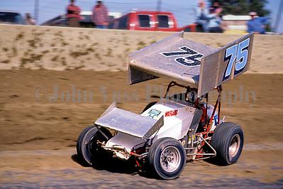 Doug Wolfgang at Eldora 1982