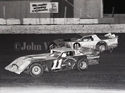 Rick Cox and Ron Jackson 34 Raceway 1985 369