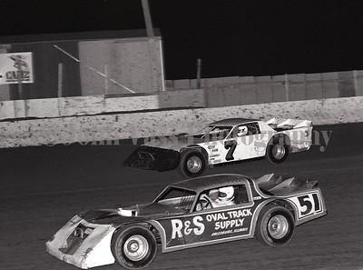 Rick Benson and Bill Bruer 34 Raceway 1985 372