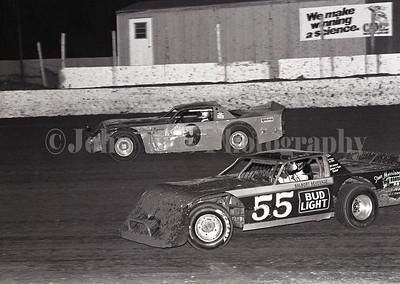 Dave Goble 34 Raceway 1985 363