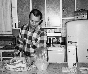 Willis Dicke in the Kitchen