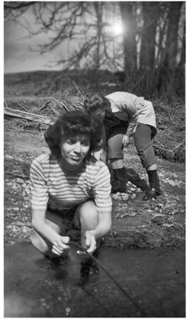 Helen in the Creek