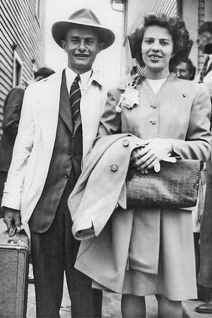 Willis and Helen Honeymooners