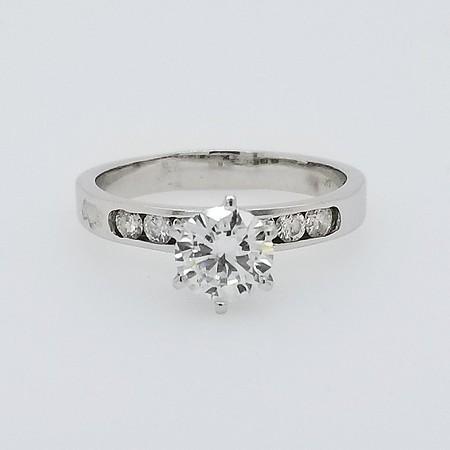 1.00ct Round Brilliant Diamond Solitaire - GIA G, SI2