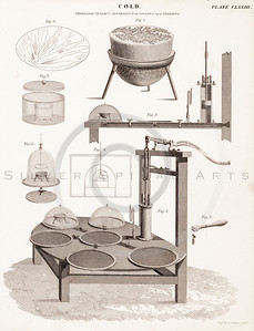 Vintage 1800s Steel Engraving Steampunk Print from from THE ENCY