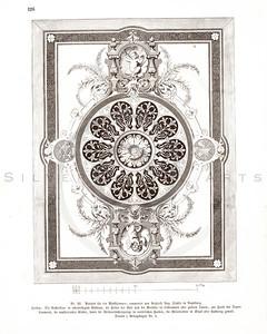 Vintage 1800s Sepia Illustration of Design Pattern - GEWERBEHALLE ORGAN FUR DEN FORTSCHRITT by Gewerbehalle, published in Germany.