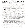 Vintage 1800s Sepia Illustration of Regulations on Goods in Philadelphia - AMERICAN HISTORICAL & LITERARY CURIOSITIES by J.J. Smith.