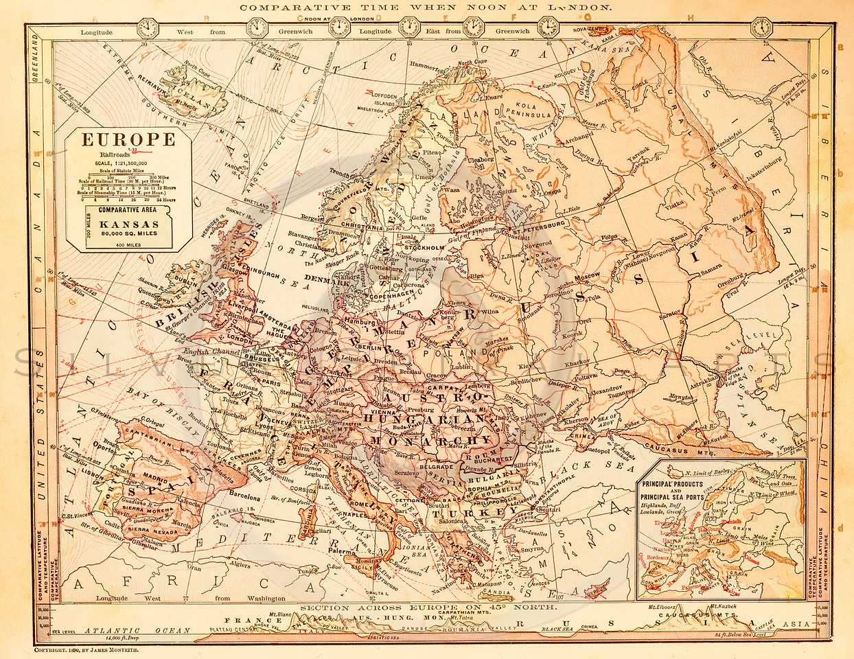 Royalty free stock vintage illustrations photo keywords maps vintage illustration of europe map antique digital download of old print europe russia gumiabroncs