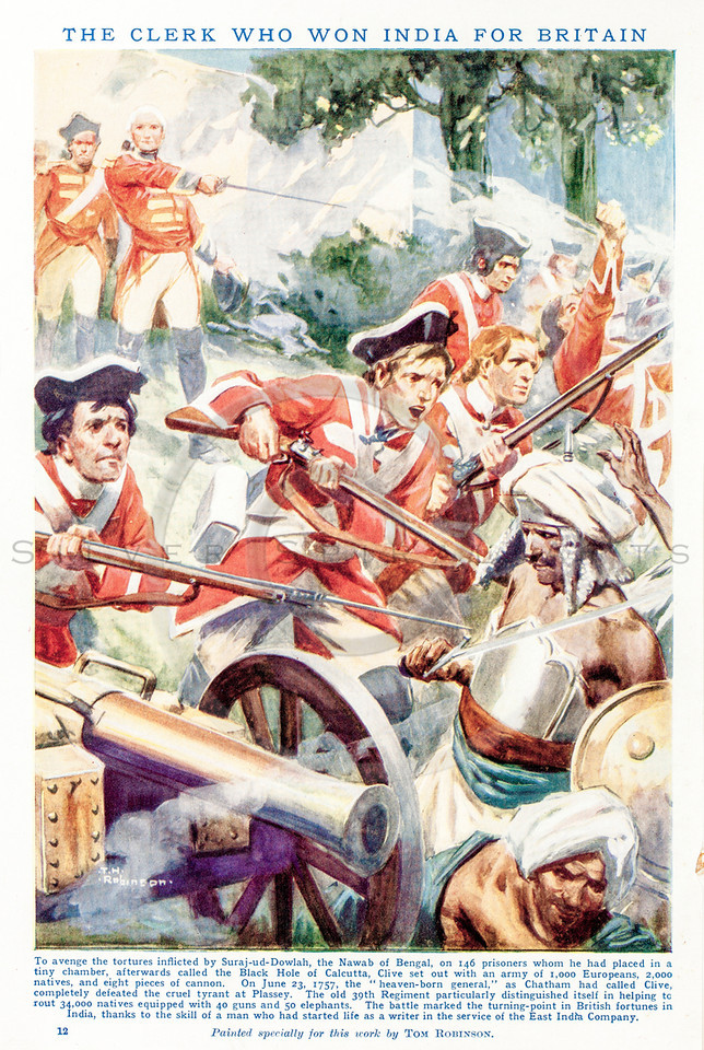 Vintage 1800s Color Illustration of British Soldiers.  The natural patina, age-toning, imperfections, and old paper antiquing of this vintage 19th century illustration are preserved in this image.