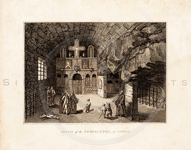 Vintage 1700s Sepia Illustration of a Church Scene - FRAGMENTS OF THE HOLY SCRIPTURES by Calmet.
