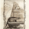 Vintage 1700s Sepia Illustration of a Mongoose - NATURAL HISTORY by Count de Buffon.