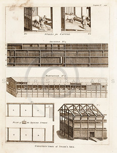 Vintage 1700s Sepia Illustration of Architecture Plans - FRAGMEN