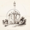 Vintage 1800s Sepia Illustration of a Stone Chapel - MISCELLANEOUS TRACTS RELATING TO ANTIQUITY by Society of Antiquaries in London.