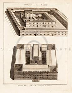 Vintage 1700s Sepia Illustration of Architecture Plans - FRAGMEN