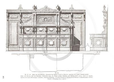 Vintage 1800s Sepia Architecture - GEWERBEHALLE ORGAN FUR DEN FORTSCHRITT by Gewerbehalle, published in Germany.