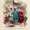 Vintage 1800s Color Illustration of Colonists  - INDIAN RACES OF NORTH & SOUTH AMERICA by Brownwell.