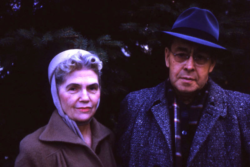 Aunt Grace and Uncle Frank Lewis. Now I realize where Dolores got her good looks.