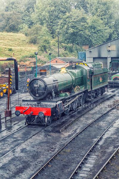 Steam Engine In The Rain 3