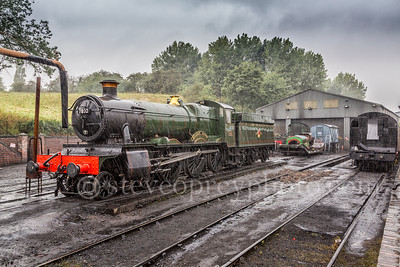 Steam Engine In The Rain 2