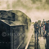 Wet Day At The Railway