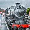 Steam Engine In The Rain