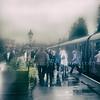 Railway In The Rain