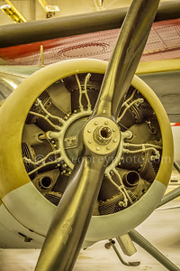 Vintage Aircraft Engine