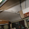 Headliner and Rear of Bus Before