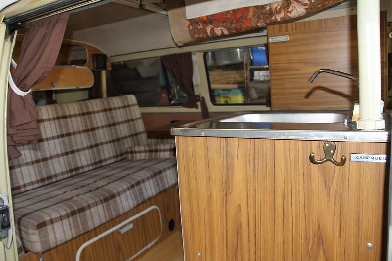 Original VW Campmobile Interior