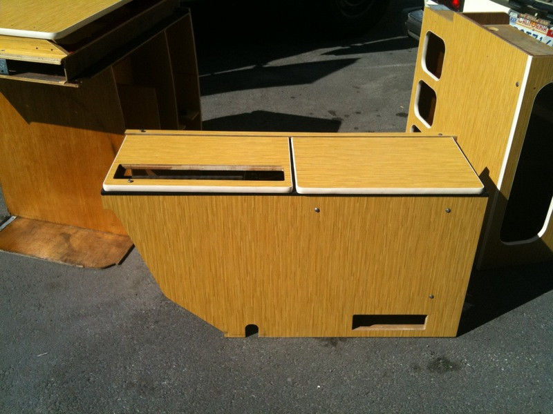 Bamboo interior cabs for Rell.