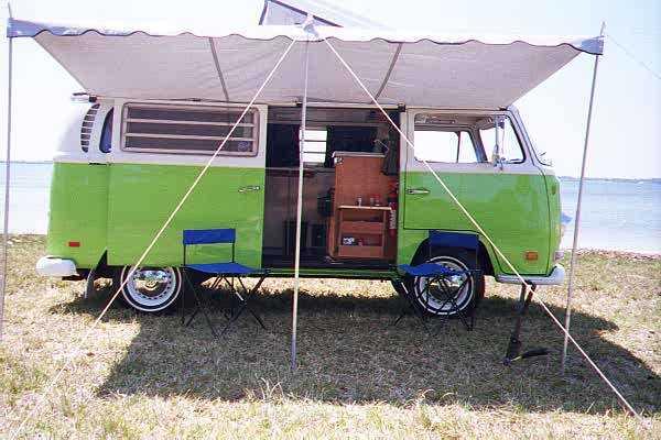 Very clean VW Camper we saw.