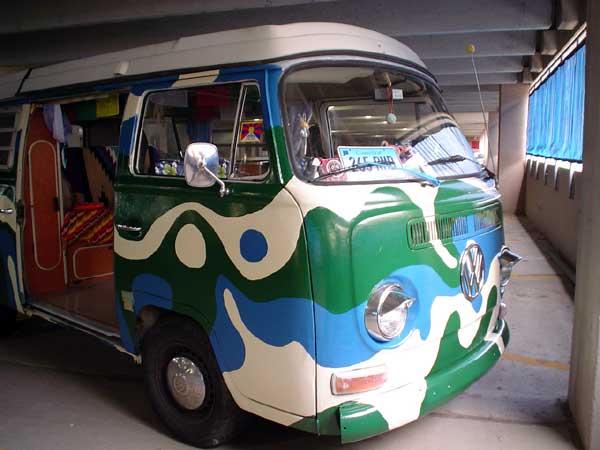 wild bus exterior