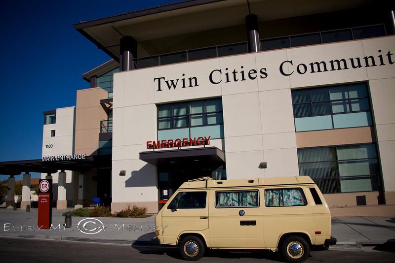 10 days on the road, one emergency room visit - VW Surfari - Photo by Pat Bonish