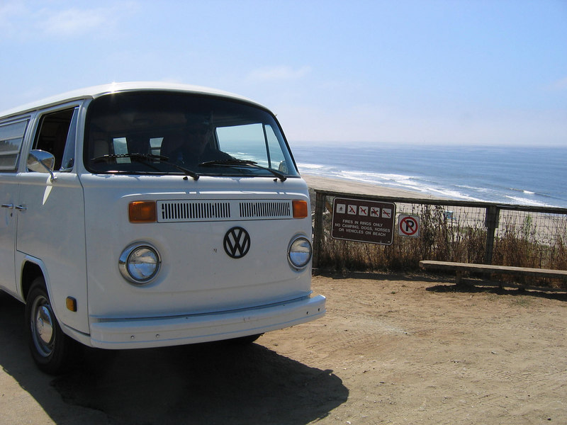 Sunset State Beach - nice campground here too!