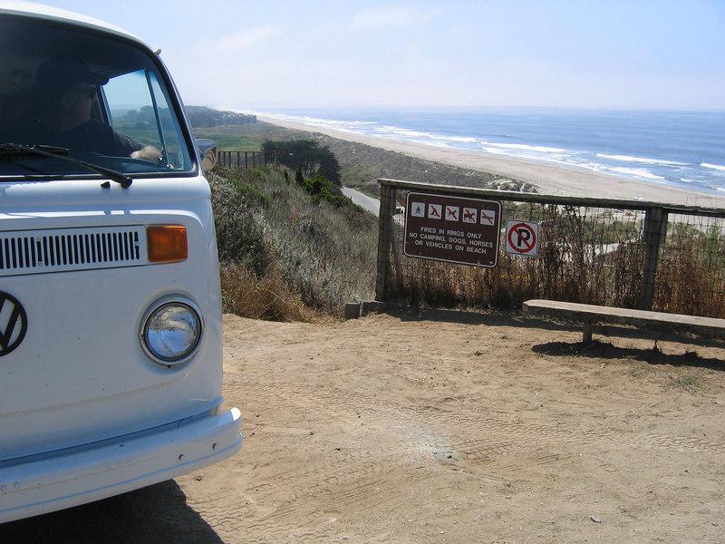 Sunset State Beach - between Monterey and Santa Cruz
