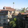 Spanish style 1880's palace that sprawls across a whole city block. The Mission Inn, Riverside