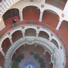 Circular staircase at The Mission Inn, Riverside